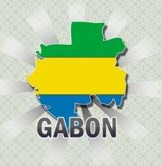 drapeau_du_gabon_carte_postal