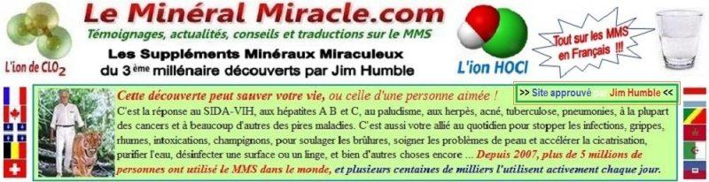 Le Minéral Miracle.com vous explique tout sur les MMS en Français